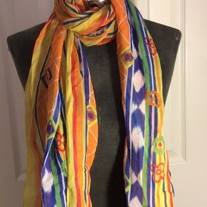 ESCADA colorful scarf